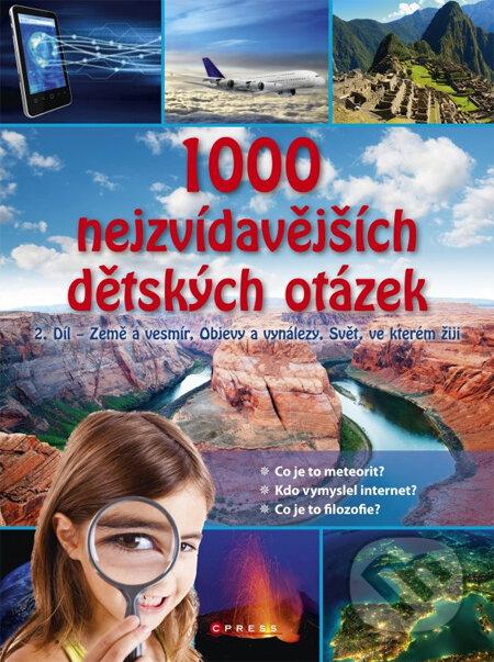 1000 nejzvídavějších dětských otázek (2. díl) -
