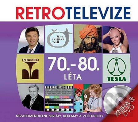 Retro televize - 70.-80. léta (DVD + kniha) -