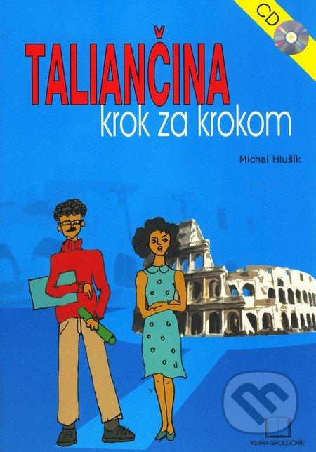 Taliančina krok za krokom, CD - Michal Hlušík