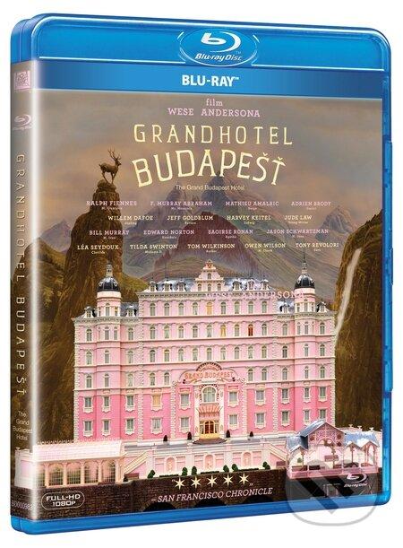 Grandhotel Budapešť BLU-RAY