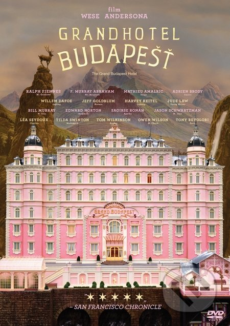 Grandhotel Budapešť DVD