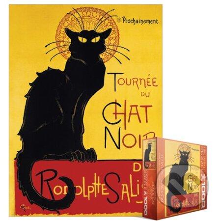Černá kočka Chat Noir - T.A. Steinlen