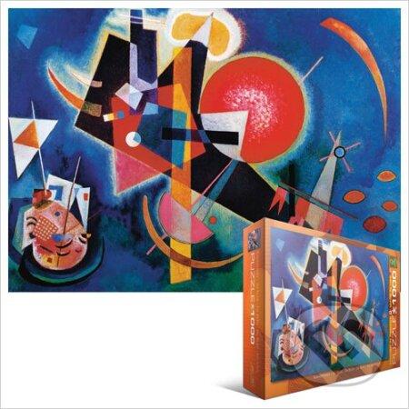 V modrém - Wassily Kandinsky