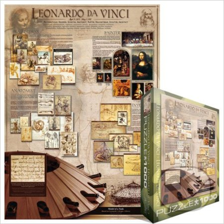 Leonardo da Vinci Schéma -