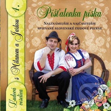 Ľudová Veselica s Milanom a Jarkou: Píšťalka píska 4 - Perný a Matuškovičová