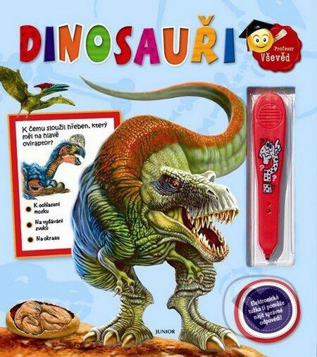 Dinosauři + elektronická tužka -