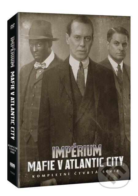 Impérium-Mafie v Atlantic City - 4. série DVD