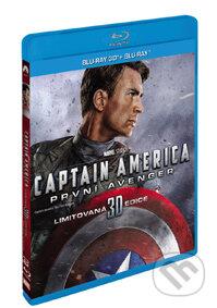 Captain America: První Avenger 3D BLU-RAY