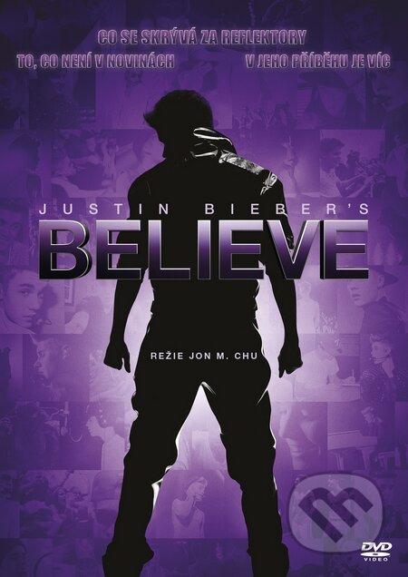 Justin Bieber\'s Believe DVD