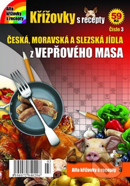 Křížovky s recepty 3: České recepty z vepřového masa -