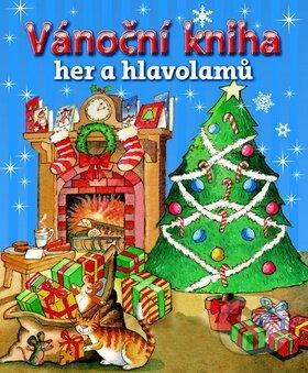 Vánoční kniha her a hlavolamů -