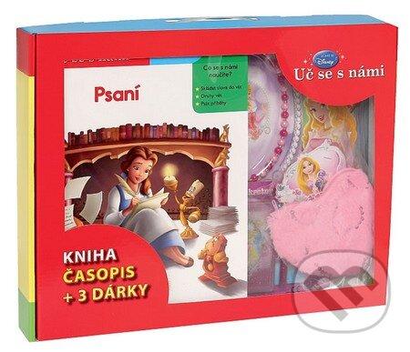 Kufřík - Psaní (kniha, časopis + 3 dárky) - Walt Disney