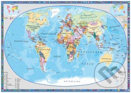 Politická mapa sveta -