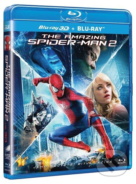 Amazing spider Man 2 3D BLU-RAY3D