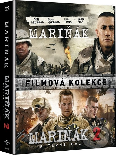 Kolekce Mariňák 1+2 BLU-RAY