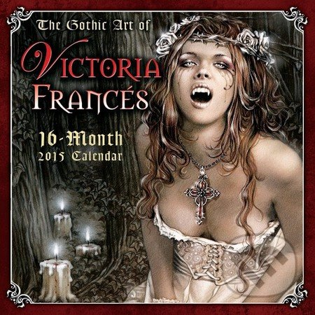 The Gothic Art of Victoria Francés - Victoria Francés