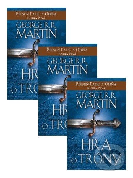 3 x Hra o tróny - George R.R. Martin