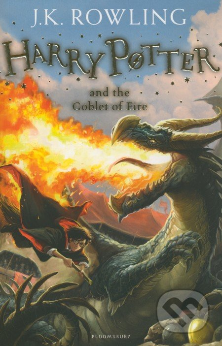 Bloomsbury Harry Potter and the Goblet of Fire - J.K. Rowling