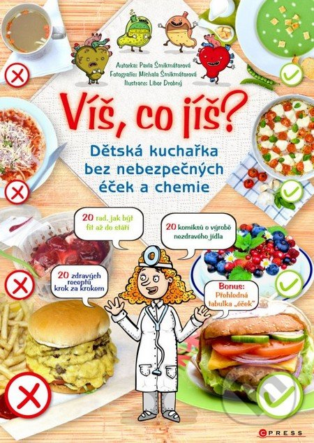 Víš co jíš? - Pavla Šmikmátorová, Libor Drobný