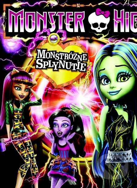 Monster High: Monštruózne splynutie DVD