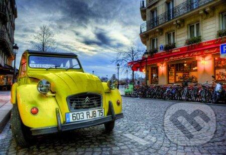 Dusk in Paris -
