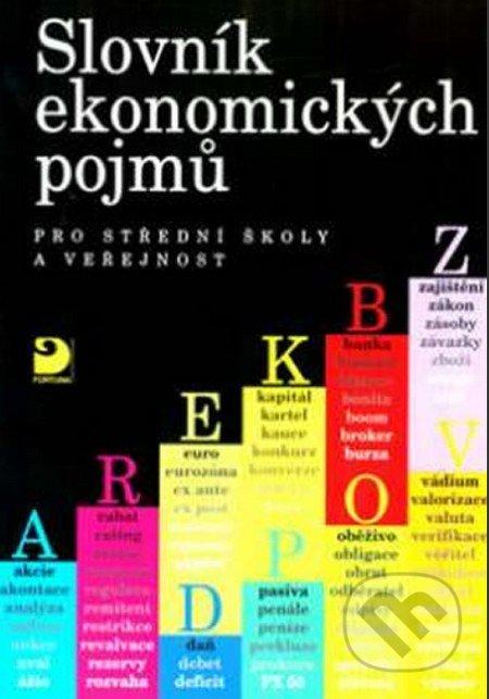 Slovník ekonomických pojmů pro střední školy a veřejnost - Náhled učebnice
