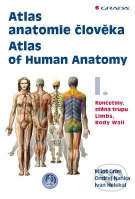 Atlas anatomie člověka I. - Miloš Grim, Ondřej Naňka, Ivan Helekal