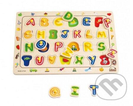Vkladacie puzzle Abeceda 2 -