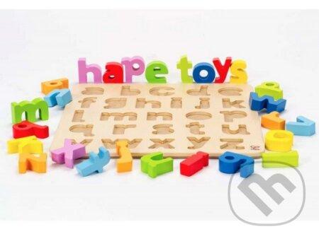 Vkladacie puzzle Malá abeceda -