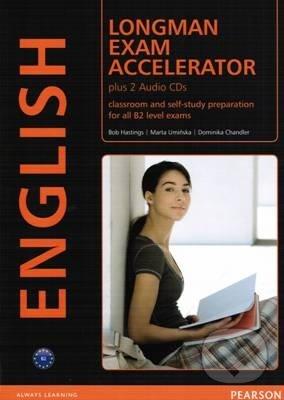 Longman Exam Accelerator, Classroom and self-study preparation for all B2 level exams : plus 2 audio CDs - Náhled učebnice