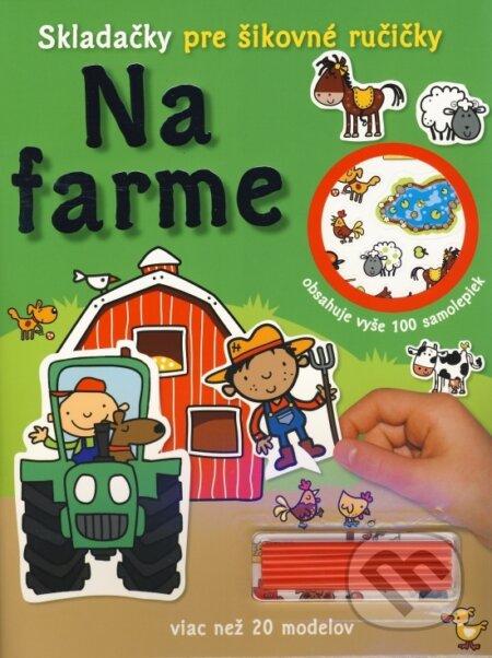 Skladačky pre šikovné ručičky: Na farme -