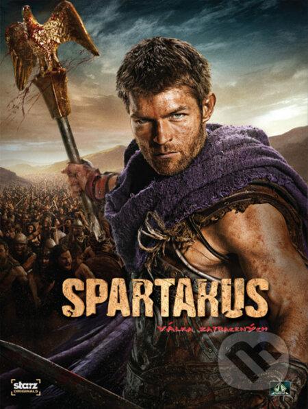 Spartakus: Vojna zatratených DVD