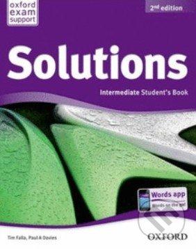 SOLUTIONS 2nd Edition INTERMEDIATE STUDENT´S BOOK Internatio. - Náhled učebnice