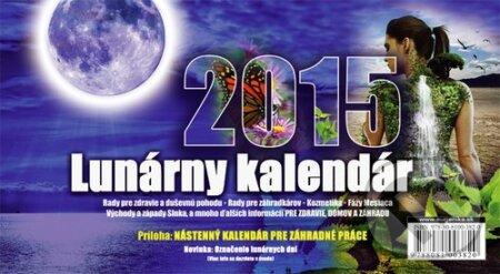 Lunárny kalendár 2015 - Vladimír Jakubec