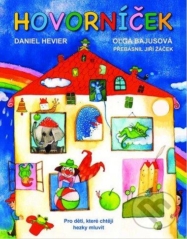 Hovorníček (český jazyk) - Daniel Hevier, Oľga Bajusová (ilustrace)