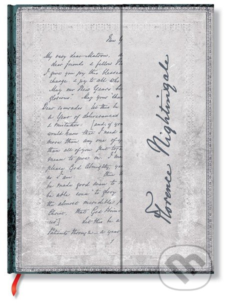 Paperblanks - Florence Nightingale, Letter of Inspiration -