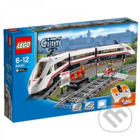 LEGO City 60051 Vysokorýchlostný osobný vlak -