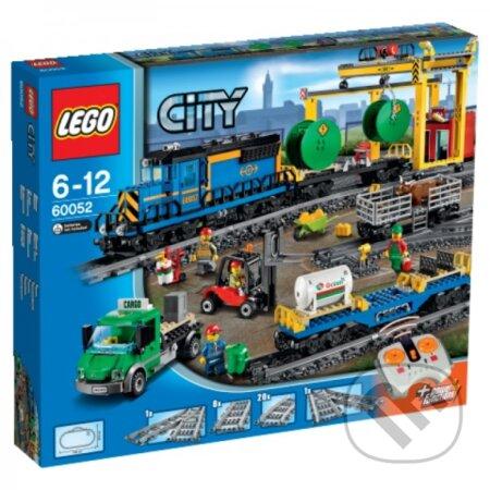 LEGO City 60052 Nákladný vlak -