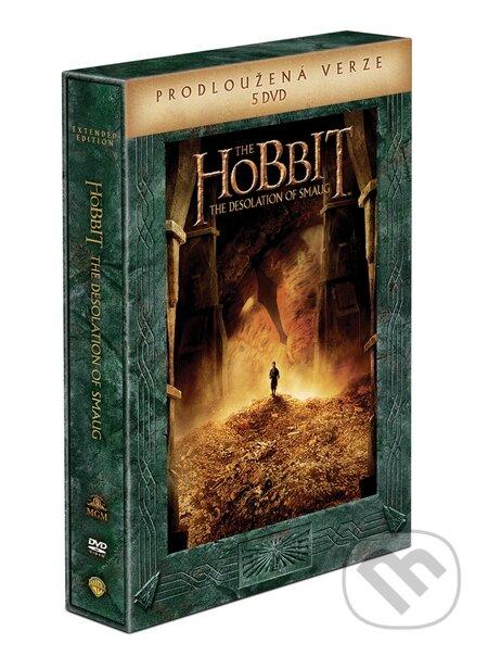 Hobit: Šmakova dračí poušť Prodloužená verze DVD