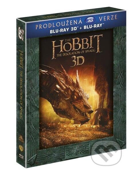 Hobit: Šmakova dračí poušť Prodloužená verze 3D BLU-RAY3D