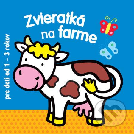 Zvieratká na farme pre deti od 1 - 3 rokov -
