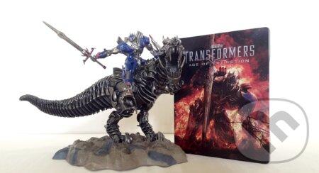 """Transformers: Zánik """"sběratelské balení Dinobot"""" Steelbook 3D STEELBOOK"""