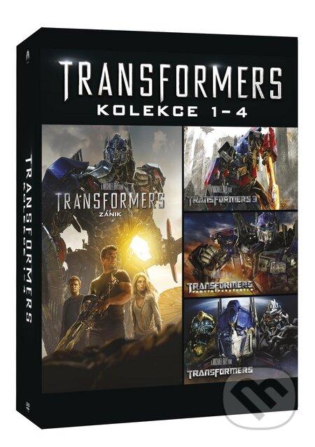 Transformers kolekce 1 - 4 DVD