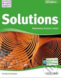 SOLUTIONS 2nd Edition ELEMENTARY STUDENT´S BOOK Internationa. - Náhled učebnice