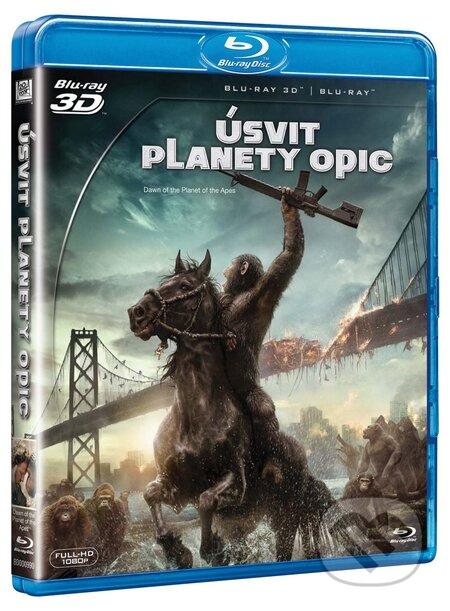 Úsvit planety opic 3D BLU-RAY3D