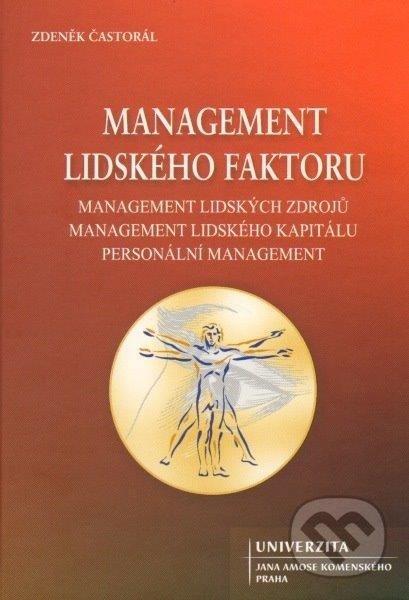 Management lidského faktoru, management lidských zdrojů, management lidského kapitálu, personální menegement - Náhled učebnice