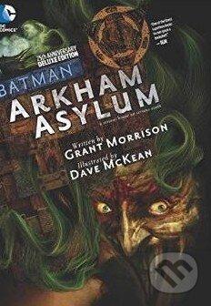 Batman Arkham Asylum - Dave McKean, Grant Morrison