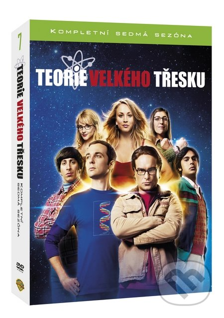 Teorie velkého třesku 7.série DVD