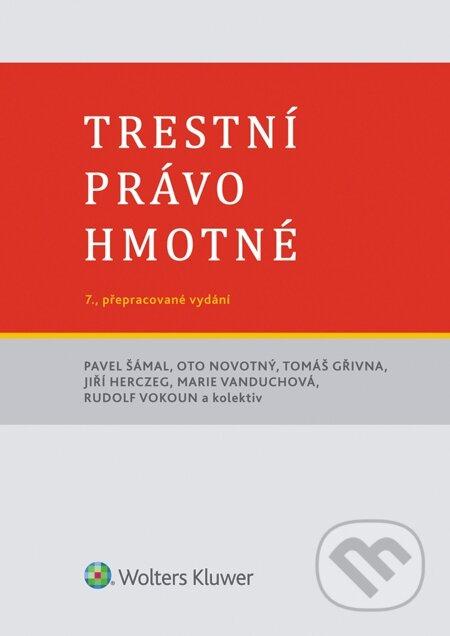 Trestní právo hmotné, 7. vydání - Pavel Šámal a kol.