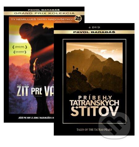 Kolekcia Žiť pre vášeň & Príbehy tatranských štítov DVD